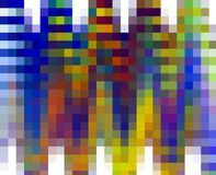 Colorful squares, vivid abstract background and texture. Abstract glass dond like pastel fluid squares like background, blue yellow orange violet geometries stock illustration