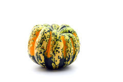 Colorful squash isolated on white Royalty Free Stock Photo