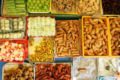 Colorful sssortment of Malaysian Kuih Pastry - Series 2 Royalty Free Stock Photography