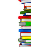 Colorful Stack of books Stock Image