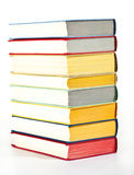 Colorful stacked books Royalty Free Stock Photo
