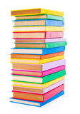 Colorful stacked books Royalty Free Stock Image