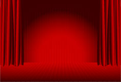 Colorful stage  Royalty Free Stock Image