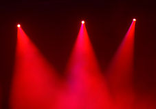 Colorful stage background. With smoke royalty free stock images