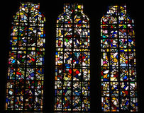 Colorful stained glass. Royalty Free Stock Images
