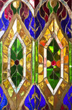 Colorful stained glass background Royalty Free Stock Photo