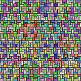Colorful stained glass pattern Stock Photos