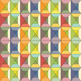 Colorful Stained Glass seamless background Royalty Free Stock Photos