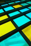 Colorful stained glass window Royalty Free Stock Image