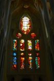 Colorful stained glass window Stock Photography