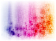 Colorful stained scribble Stock Photo
