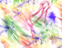 Colorful stains Royalty Free Stock Photo