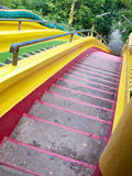 Colorful staircase Stock Images