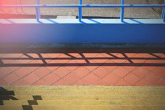 Colorful stairs Royalty Free Stock Image