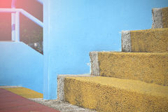 Colorful stairs Stock Photos