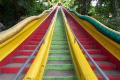 Colorful stairs Stock Images