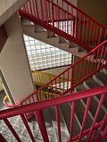 Colorful stairway Royalty Free Stock Image