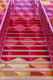 Colorful Stairway Stock Photo
