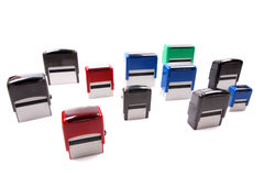 Colorful Stamps Royalty Free Stock Photo