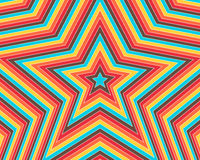 The Colorful Star Stock Images