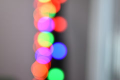 Colorful Star bokeh blurred abstract background. Christmas and new year party concept. Stock Photography