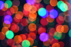 Colorful Star bokeh blurred abstract background. Christmas and new year party concept. Colorful Star bokeh blurred abstract background. Christmas and new year Stock Image