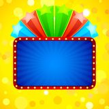 Colorful Star Template Stock Photography