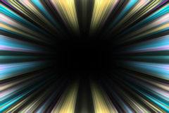 Colorful starburst explosion border Royalty Free Stock Photography