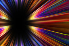 Colorful starburst explosion border Stock Photo