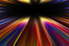 Colorful starburst explosion border Stock Photography