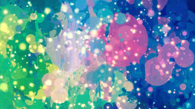 Colorful stardust background Royalty Free Stock Photo