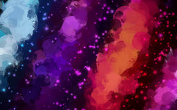 Colorful stardust  background Royalty Free Stock Photos