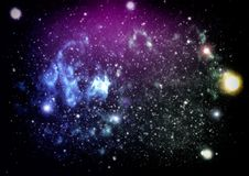 High definition star field background . Starry outer space background texture . Colorful Starry Night Sky Outer Space background. Colorful Starry Night Sky Outer Stock Photo