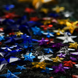Colorful stars Stock Photos