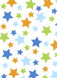 Colorful stars background Royalty Free Stock Image