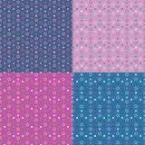 Colorful stars background collection Stock Photography
