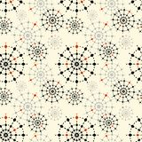 Colorful stars seamless pattern Royalty Free Stock Image