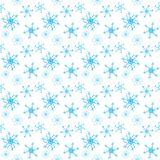Colorful stars seamless pattern Stock Image