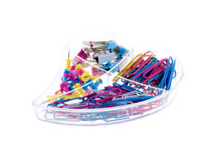 Colorful stationery Stock Photos