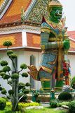 Colorful Statue in Wat Arun Temple Royalty Free Stock Photo