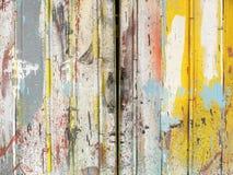 Colorful steel door Stock Photo