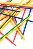 Colorful sticks Stock Images