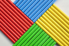 Colorful Sticks Royalty Free Stock Images
