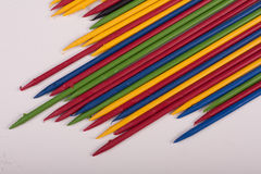 Colorful  sticks toys Stock Images