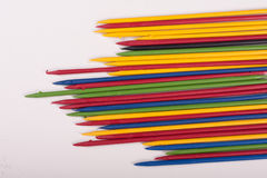 Colorful  sticks toys Royalty Free Stock Photos
