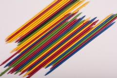 Colorful  sticks toys Stock Photo