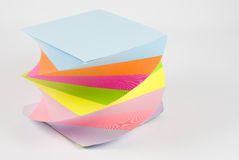 Colorful Sticky Notes Stock Images