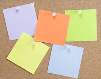 Colorful sticky notes Stock Photo