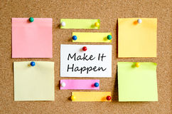 Colorful sticky notes royalty free stock photo