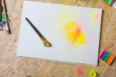 Colorful still life stock photography